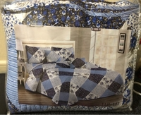 Used Quilted bedsheet 2 pillow cases in Dubai, UAE