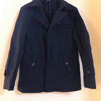 Used Dark blue jacket 🧥 size medium  in Dubai, UAE
