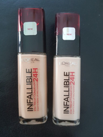 Authentic L'Oréal foundations 2 pcs 220