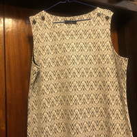Used White and black short dress (uk18 eur44) in Dubai, UAE