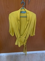 Used Bersheka yellow cardigan  in Dubai, UAE