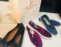(((3))) pair ballerinas shoes OFFER
