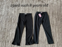 Used 2 trousers size 8/9 years old girl in Dubai, UAE