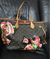 Used LV Neverfull Stephen Sprouse  in Dubai, UAE