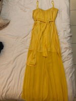 Used Bcbg yellow maxi dress  in Dubai, UAE
