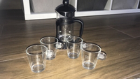 Used Nespresso (espresso) cups + free steeper in Dubai, UAE