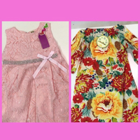 Used 2 dresses for a little girl 👧/90/80 in Dubai, UAE