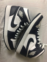"Used Jordan 1 mid ""Obsidian"" in Dubai, UAE"