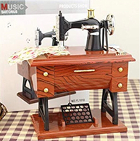 Used Vintage Sewing Machine Musical rBox in Dubai, UAE