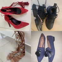 Used Bundle 4 pairs of shoes in Dubai, UAE