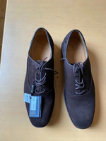 Used New suede leather shoes Massimo dutti in Dubai, UAE