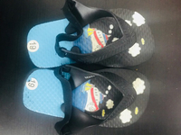 Used Baby beach flip flops size 19!!(6-12)  in Dubai, UAE