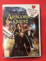 Used Lord of the rings Aragon's Quest *Wii* in Dubai, UAE