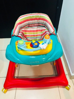 Used Juniors crown baby walker foldable one  in Dubai, UAE