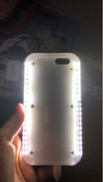 Used Selfie light case - 6/6s - with charger  in Dubai, UAE