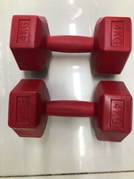 Used Dumbbells 4kg x 2 pcs /new✨✨ in Dubai, UAE