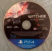 Used Ps4 The witcher wild hunt - No case in Dubai, UAE