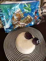 Used Beach bundle sun hat & towel & glasses in Dubai, UAE
