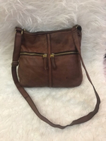 Used Fossil leather bag  in Dubai, UAE