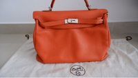 Used Hermes Togo Orange in Dubai, UAE