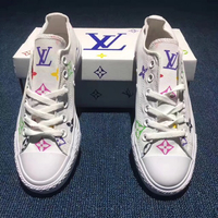 "Used Converse X Louise Vuitton ""custom  in Dubai, UAE"