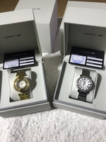 Used 2 cerruti watches gold/silver in Dubai, UAE