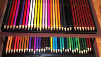 Used Pencil crayon set sketching set in Dubai, UAE