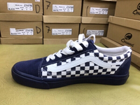 Used Vans men's shose blue color  in Dubai, UAE