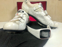Polar M400 + indoor cycling shoes