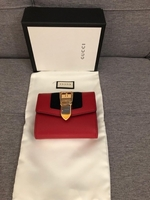 Used Authentic New Gucci Sylvie wallet  in Dubai, UAE