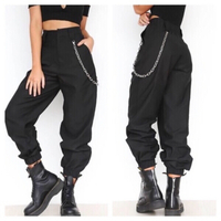 Used Hip hop pant with chain size 2XL in Dubai, UAE