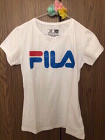 Used NEW FILA T-Shirt White  Medium  in Dubai, UAE