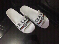 Used Gucci slippers size 42 new in Dubai, UAE