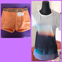 Used Prime Days TShirt + Short/36 & Panty/L in Dubai, UAE