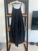Used New Massimo Dutti black frill dress  in Dubai, UAE