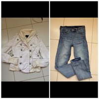 Used Jeans and jacket offer  in Dubai, UAE