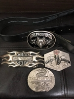 Used Harley Davidson Belt Buckles set of 4 in Dubai, UAE