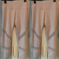 Used Blush Pink Gym Leggings in Dubai, UAE