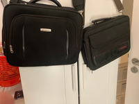 Used Use laptop bag Samsonite&toshiba in Dubai, UAE