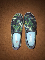 Used Green Sequins Slip On Sneakers (Reebok)  in Dubai, UAE