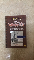 Used Diary of a Wimpy Kid: THE THIRD WHEEL. in Dubai, UAE