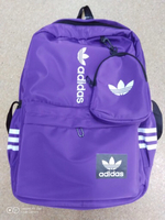 Used Adidas bagpack purple 1 pc in Dubai, UAE