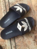 Used Men adidas slippers  in Dubai, UAE