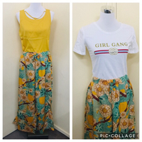 Used Stylish outfit set for her New Size S in Dubai, UAE