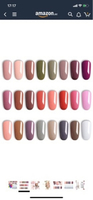 Used Gellish (Vishine) gel nail polish colors in Dubai, UAE