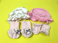 Used Preloved Hat,Socks,hand glove 0-6 months in Dubai, UAE