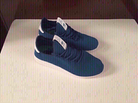 Used Adidas HU sneakers size 43, brand new in Dubai, UAE