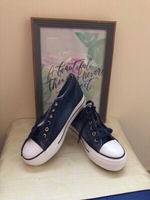 NEW Wedge Sneakers Size 37