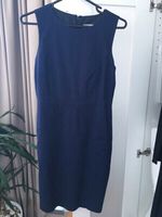 Blue office dress - size 10