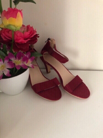 Used NEW ✨Red Sandals size 35 in Dubai, UAE